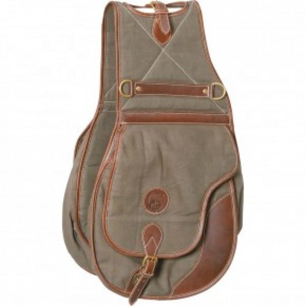 """Двойная сумка на седло """"Canvas"""" купить в интернет магазине конной амуниции"""